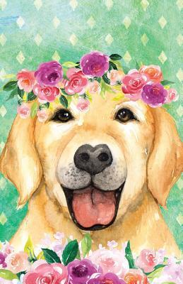 Bullet Journal For Dog Lovers Labrador In Flowers