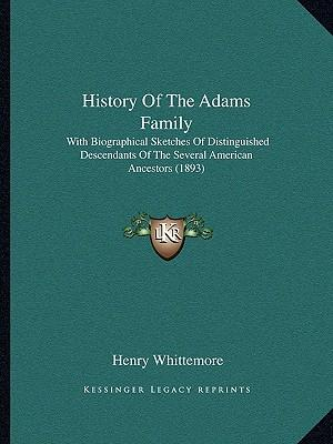 History of the Adams Family