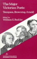 Major Victorian Poets Tennyson Browning Arnold