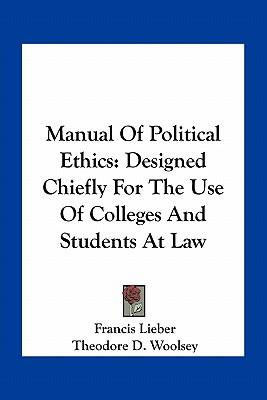 Manual of Political Ethics