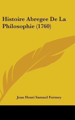 Histoire Abregee De La Philosophie