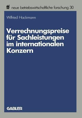 Verrechnungspreise Für Sachleistungen Im Internationalen Konzern