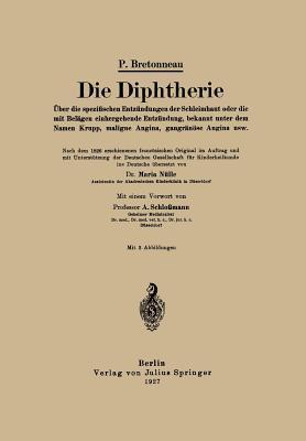 Die Diphtherie