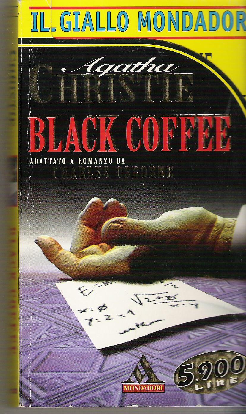 Black Coffee - adattato a romanzo da Charles Osborne