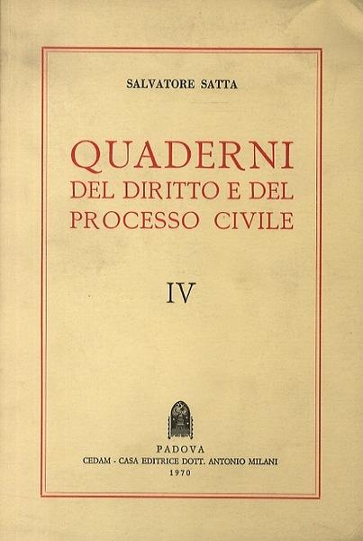 Quaderni del diritto...