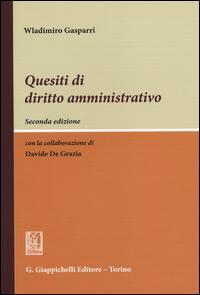 Quesiti di diritto amministrativo