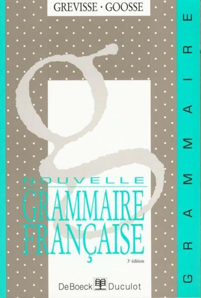 Nouvelle Grammaire française