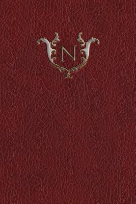 Monogram N Grid Notebook