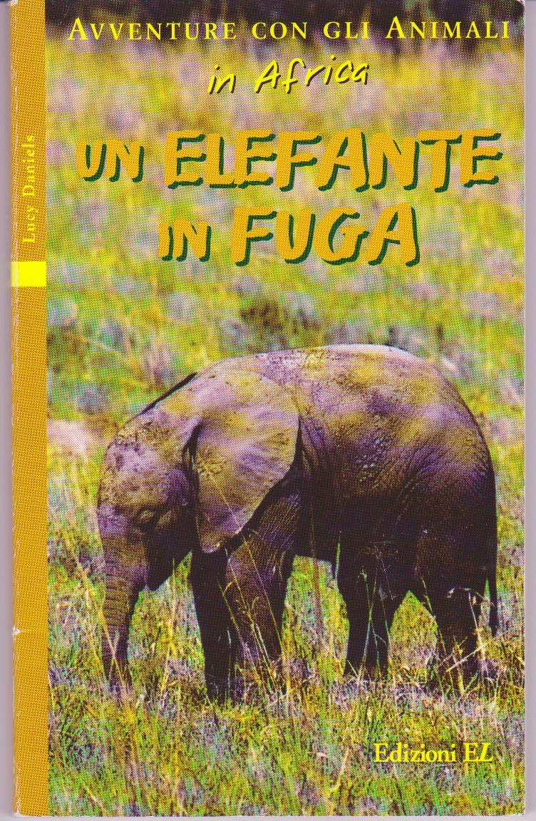 Un elefante in fuga