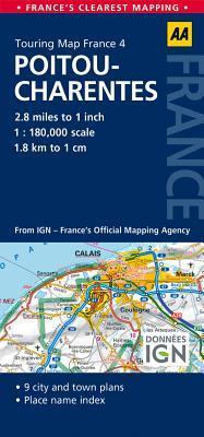 AA Touring Map Franc...