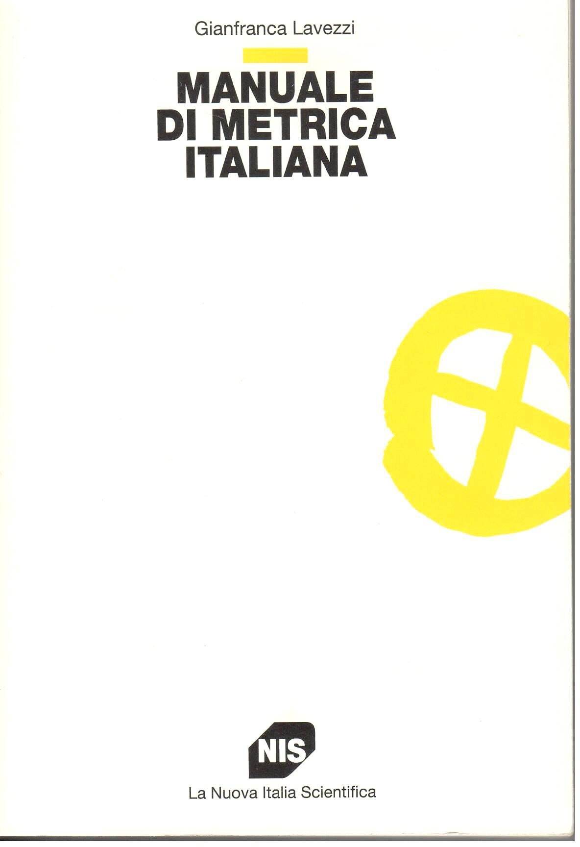 Manuale di metrica italiana