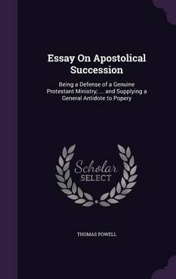 Essay on Apostolical...