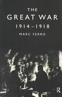 The Great War, 1914-...