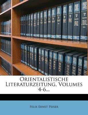 Orientalistische Literatur-Zeitung, Vierter Jahrgang