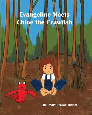 Evangeline meets Chloe the Crawfish