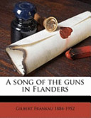 A Song of the Guns in Flanders