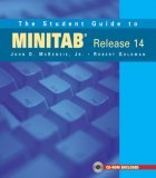 The Student Guide to MINITAB Release 14 + MINITAB Student Release 14 Statistical Software