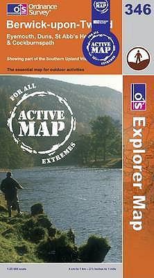 Berwick-upon-Tweed (OS Explorer Map Active)