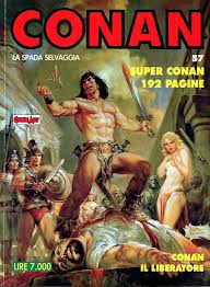 Conan la spada selvaggia n. 57