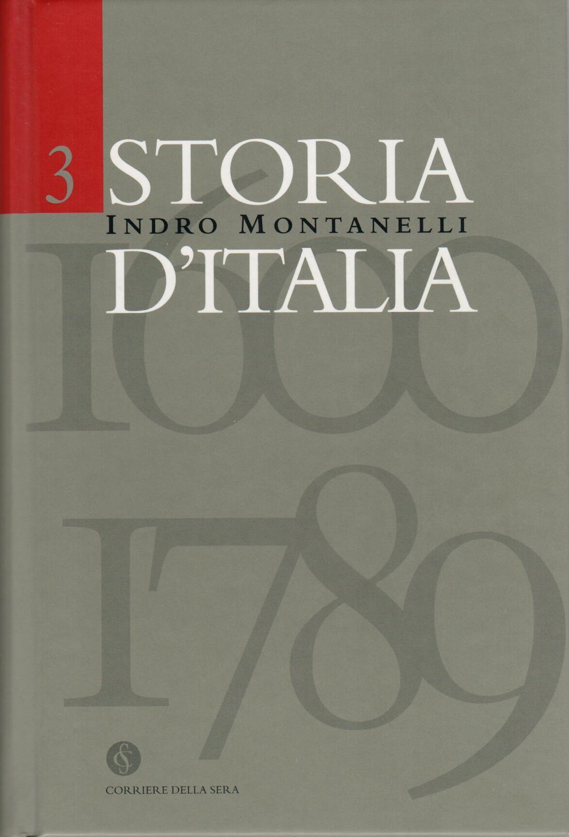 Storia d'Italia vol....