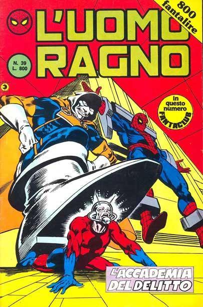L'Uomo Ragno (2a serie) n. 39