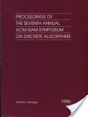 Proceedings of the annual ACM-SIAM Symposium on Discrete Algorithms. 7. Atlanta, Georgia, January 28 - 30, 1996