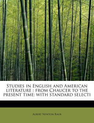Studies in English and American literature