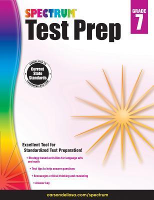 Spectrum Test Prep, Grade 7
