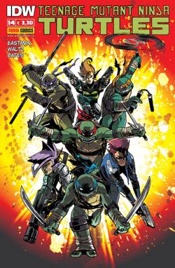 Teenage Mutant Ninja Turtles n. 14