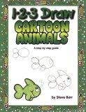 1 2 3 Draw Cartoon Animals