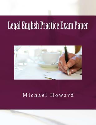 Legal English Practice Exam Paper
