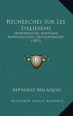 Recherches Sur Les Syllidiens