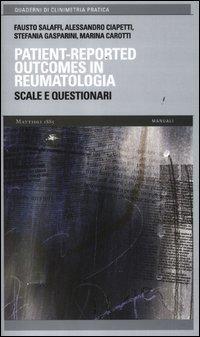 Patient-reported outcomes in reumatologia. Scale e questionari