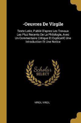 -Oeuvres de Virgile