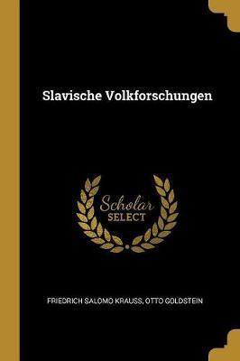 Slavische Volkforschungen