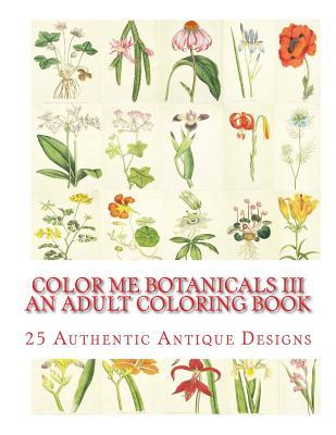 Botanicals Adult Coloring Book
