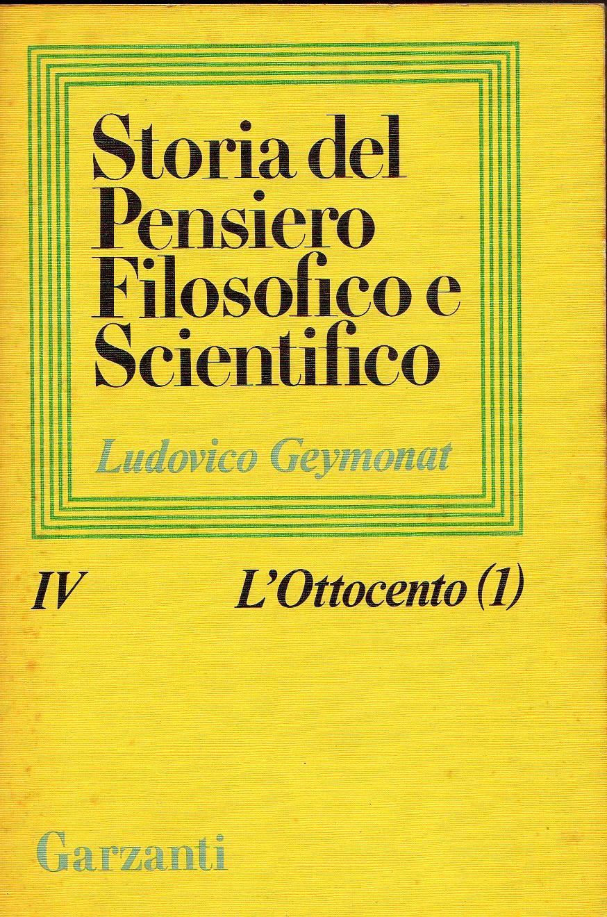 Storia del pensiero filosofico e scientifico