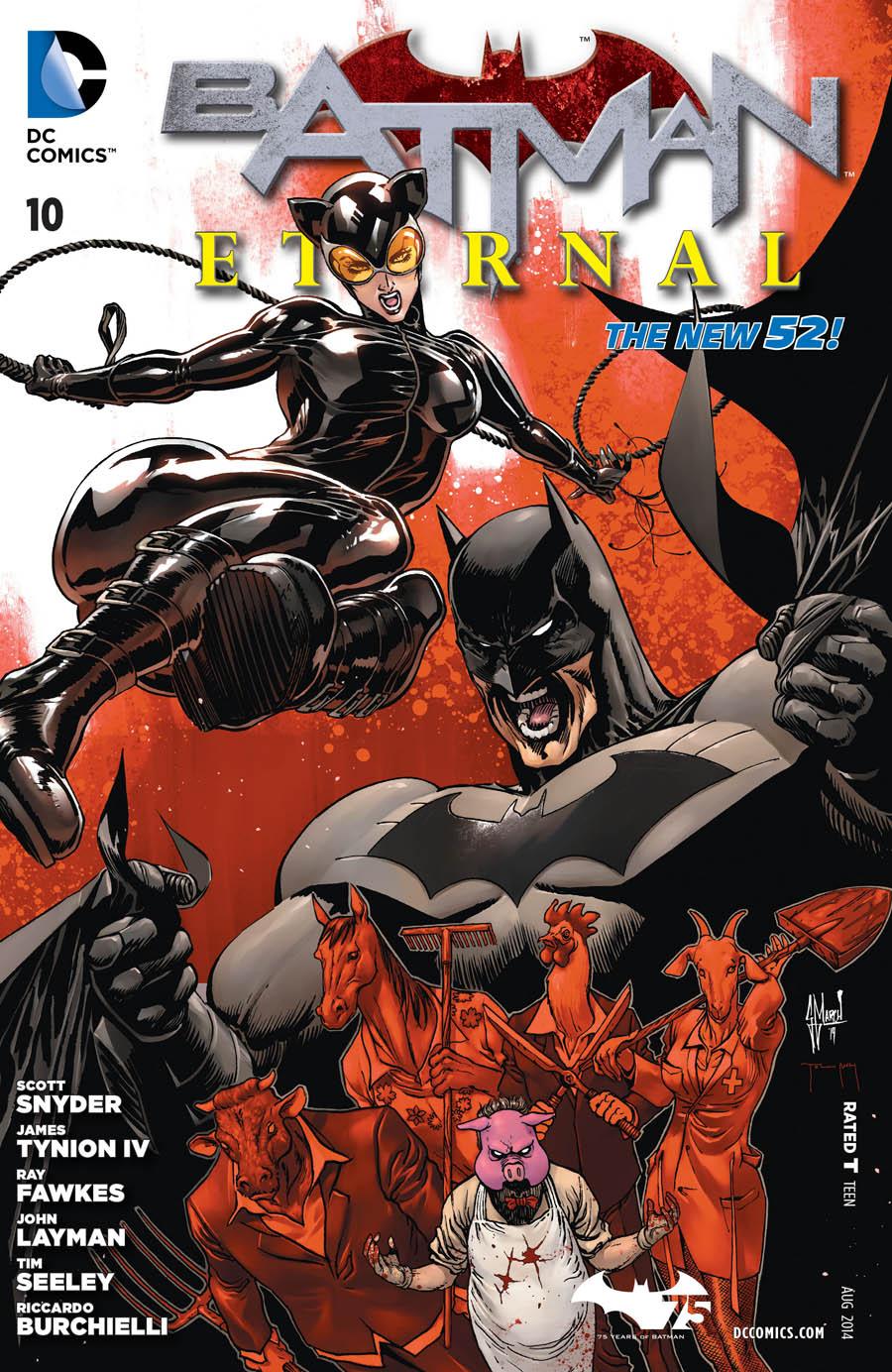 Batman Eternal Vol.1 #10