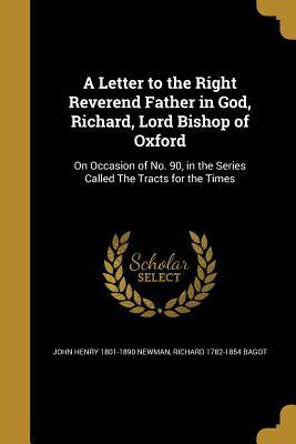 LETTER TO THE RIGHT REVEREND F