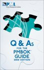 Q & As for the PMBOK...