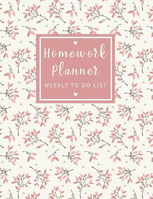 Homework Planner Weekly to Do List