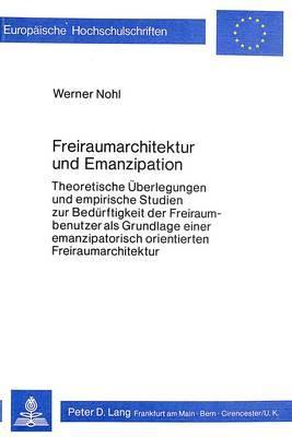 Freiraumarchitektur und Emanzipation