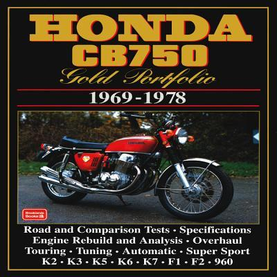 Honda Cb750 1969-78 Gold Portfolio
