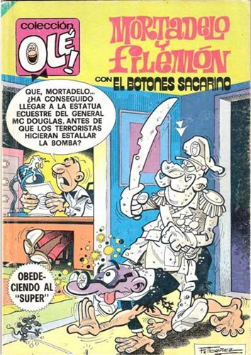 "Mortadelo y Filemón: Obedeciendo al ""Súper"""