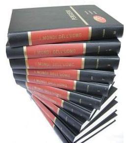 I mondi dell'uomo, enciclopedia per argomenti in 10 volumi