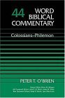 Word Biblical Commentary Vol. 44, Colossians-philemon