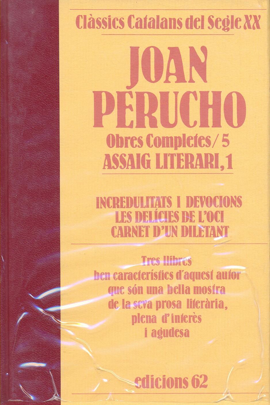 Joan Perucho: Obres ...