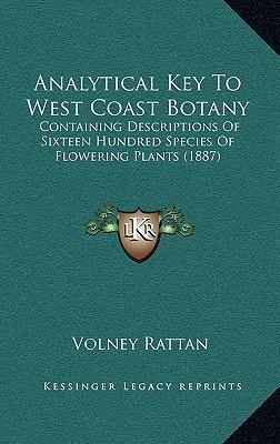 Analytical Key to West Coast Botany