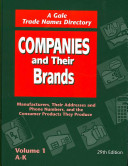 Companies and Their Brands 29