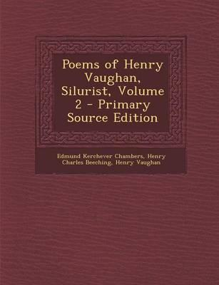 Poems of Henry Vaugh...